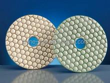 diamond dry diamond polishing pad for marble/granite