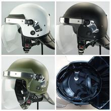 De alta qualityanti antidisturbios casco con visera escudo, la policía de casco de seguridad, de protección/safty