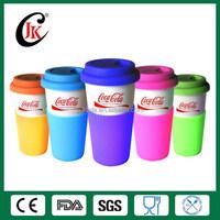 Wholesale custom ceramic cup cheap porcelain coffee mug with lid