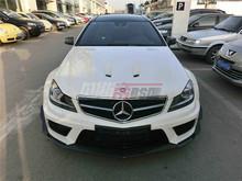 12-14 Mercedes Benz C-Class w204 C63 AMG Car Convert to Black Series Style Full Body Kit