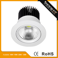 Latest style CE ROHS 25w led downlight