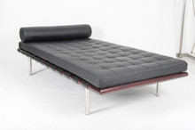 High quality Barcelona sofa bed solid wood frame barcelona daybed leather