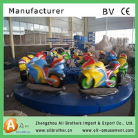 Theme park game adults Rides For Kids Mall motor racing ride