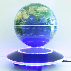 LED high quality promotional cheap dark color Magnetic Levitation Globe