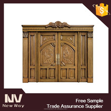 restaurant entry door or wooden door for office
