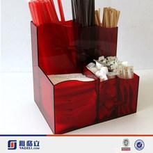 acrylic storage box, tea bag storage containers / clear acrylic tea storage