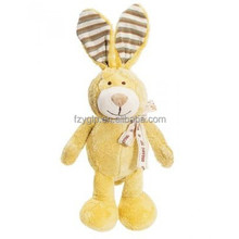 cute soft plush stuffed rabbit toy, plush animal baby toys promotional gifts