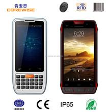 Corewise Rugged waterproof mobile phone Android WIFI GPRS Bluetooth handheld 1m middle range/ long range UHF RFID reader writer