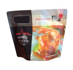 steams in bag microwaveable food packaging bag