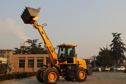 2 ton telescopic handler forklift with multi-fuciton bucket