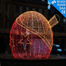 Outdoor LED Light Christmas Light Ball Decoration Holiday LED Motif Light