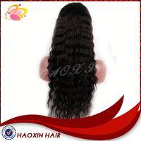 2014 New 6a Grade Virgin Human Hair Deep Wave Full Lace Wig