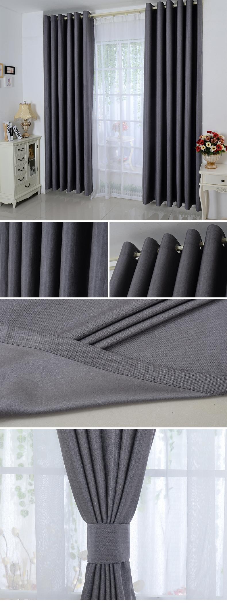 Nieuwste ontwerp woonkamer luxe hotel gordijnen gordijn product id ...