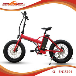 "Al alloy Front fork 20"" mini fat tire folding/foldable electric pocket bike"