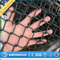 pvc coated high quality chain link fence post diameter