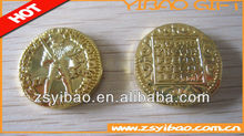 2012 metal customized commemorative coins