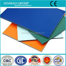 PVDF decorative solar panels aluminum composite panels