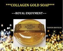 OBM/OEM/ODM/HALAL Jasmine collagen gold soap