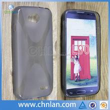 Hot Sale Soft TPU Silicone Skin Cover For LG L90 D405 D410 X Style TPU Gel Cover Case
