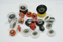 608zz nylon polea del cojinete / 608zz nylon rodamiento de rodillos