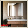Hotel bathroom wall mirror with LED lamp BGL-013, 16 years supply for hotels