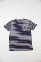 Mens Printed Stripe T-shirt Outdoor Clothing
