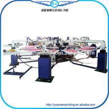 Garment & Textile Usage Automatic Silk Screen Printing Machine for Garments