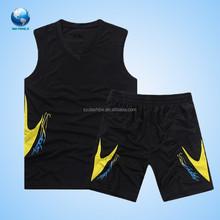 Big World Hot Sale Classical Basketball Uniform/Wear For Man,Superman Basketball Jersey,Black Basketball Uniform Wholesale
