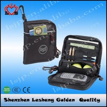2015 Best selling golf accessories new design golf valuables pouch, golf ball bag, golf ball pouch