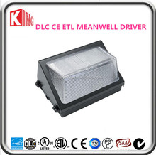 2015 hot die casting IP65 80w led wall pack light