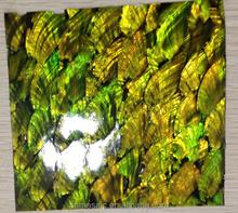 art effect mosaic mirror shell for decor
