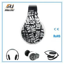 new products 2014 bluetooth stereo headset clip for mobile phone/ tablet PC