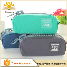 2015 wholesale popular fashion clear rectangle pencil case