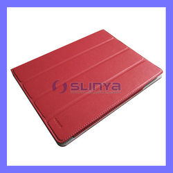 Smart Fold Durable Stand For iPad 5 Leather Case
