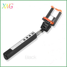 Extendable bluetooth monopod camera stick selfie silicone case for iphone 5 5s