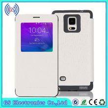 Android 5 Inch Leather Case,Luxury Mercury Goospery Wow Bumper View Case For Samsung