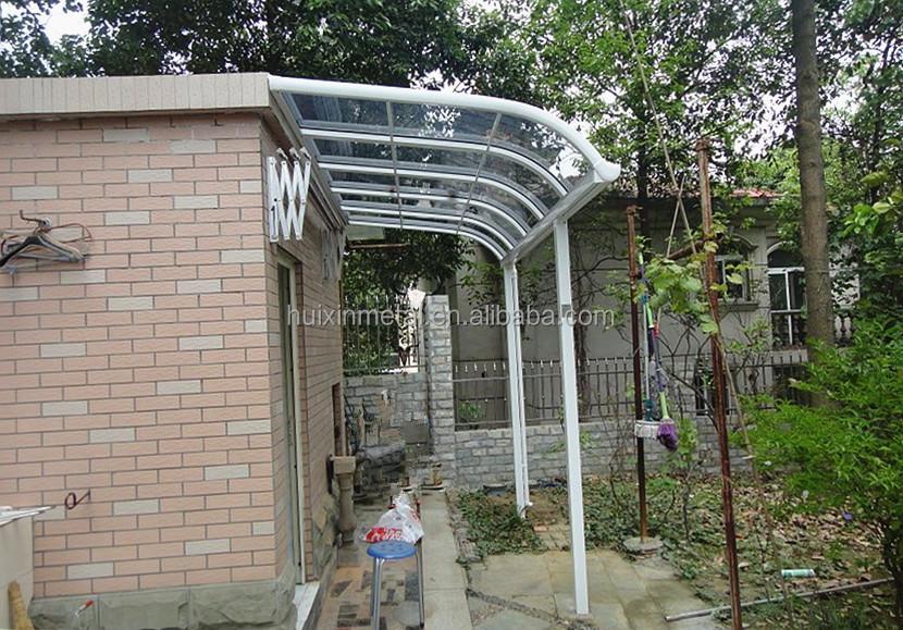 pc feuille solide cadre en aluminium auvents balcon pluie auvents r style auvents id de. Black Bedroom Furniture Sets. Home Design Ideas