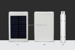Top Selling Solar USB Charger 6000mah, CE FCC Solar Charger, Portable Solar Power Bank For Mobile Phones