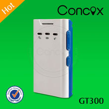 Concox Manufacturer Mini Size Fashion Looking Intelligent GT300 GPS Personal Tracker Can Set 3 SOS Number