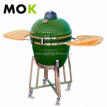 MOK Kamado charcoal bbq smoker/grill 304 STAINLESS STEEL CART/TOP/BANDS Etc