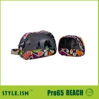 Cosmetic bag waterproof, Clear plastic makeup case, Wholesale vanity case