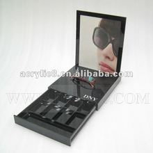 2012 NEW acrylic glasses display with a drawer