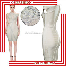 Os HX550 élégante haute qualité graceful évider simple robes de soirée