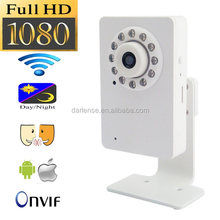 IP Network SD Card Onvif NVR CCTV Camera/indoor wifi cube ip camera for homes/offices/shops, easy setup and view