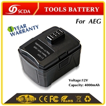 High Quality Replacement 12V 4000mAh Li-ion power tool battery for BS12CA