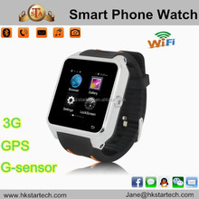 Star tech Hot Bluetooth S82 Smart Watch phone Android 4.4 MTK6572 Dual Core wifi GPS 3G Original