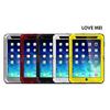 LOVE MEI Waterproof Shockproof Powerful Metal+Aluminium+Gorilla Glass Hybrid Case for iPad Mini 3/Mini 2 Retina/Mini