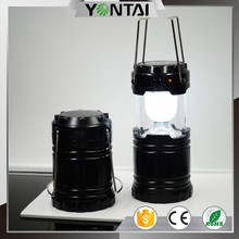 Rechargeable White Lamp Bulb 6 LED Outdoor Emergency Camp Tent Light