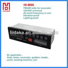 Multiband antenna amplifier for car radio anti-quake top quality FM/AM USB port Car Radio with AUX ESPERIA for Heavy Machinery