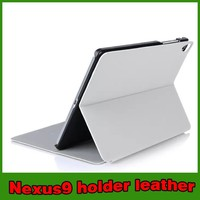 Hot selling stand leather tablet case for google nexus 9